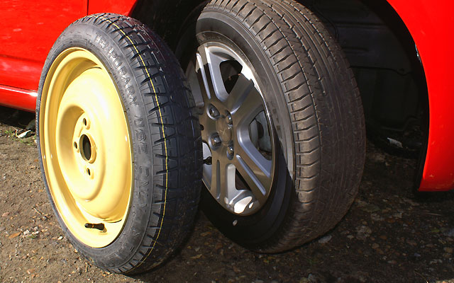 space saver spare wheels, tyre company hull, garage services hull
